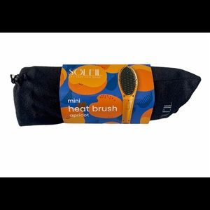 🆕Soleil hair tools Mini Heat Brush in apricot